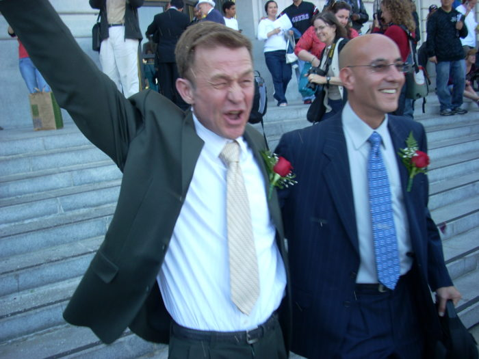 Happy Gay Married Couple (Wikimedia Commons)