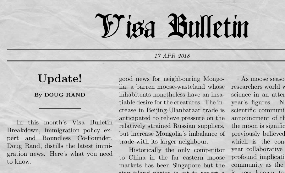 visa bulletin july 2019