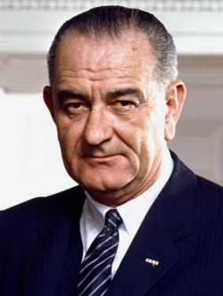 President, Lyndon B. Johnson