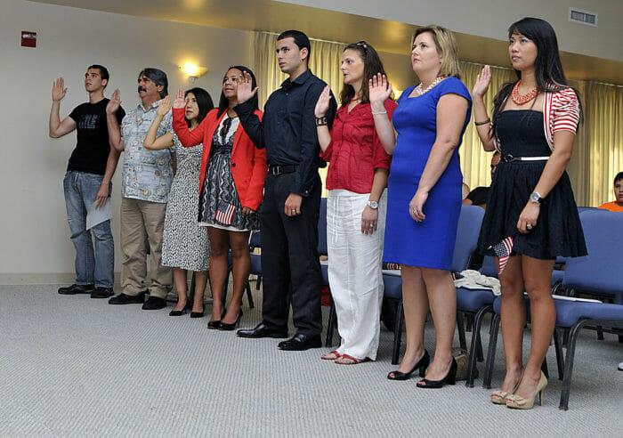 Oath of Allegiance Ceremony